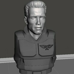 display 1.jpg Download free STL file Arnold Guardsmen, Angry As Always • 3D printing template, Valiant_Armory