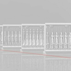 Display 1.jpg Download free STL file 28mm Heavy Weapon Racks  • Object to 3D print, Valiant_Armory