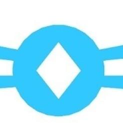 Protegeorejas rombos azul.jpg Télécharger fichier STL gratuit Protecteur de losange • Objet à imprimer en 3D, milproductos3d