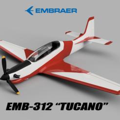Download 3D printing designs EMB 312 t27 tucano, TRex