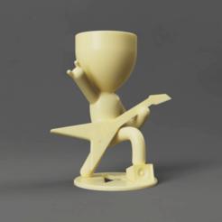 sdfsdwer.png Télécharger fichier STL vase rocher pots plante cruche • Design imprimable en 3D, TRex
