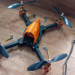 Download 3D printing models Drone fpv 350-500mm, TRex