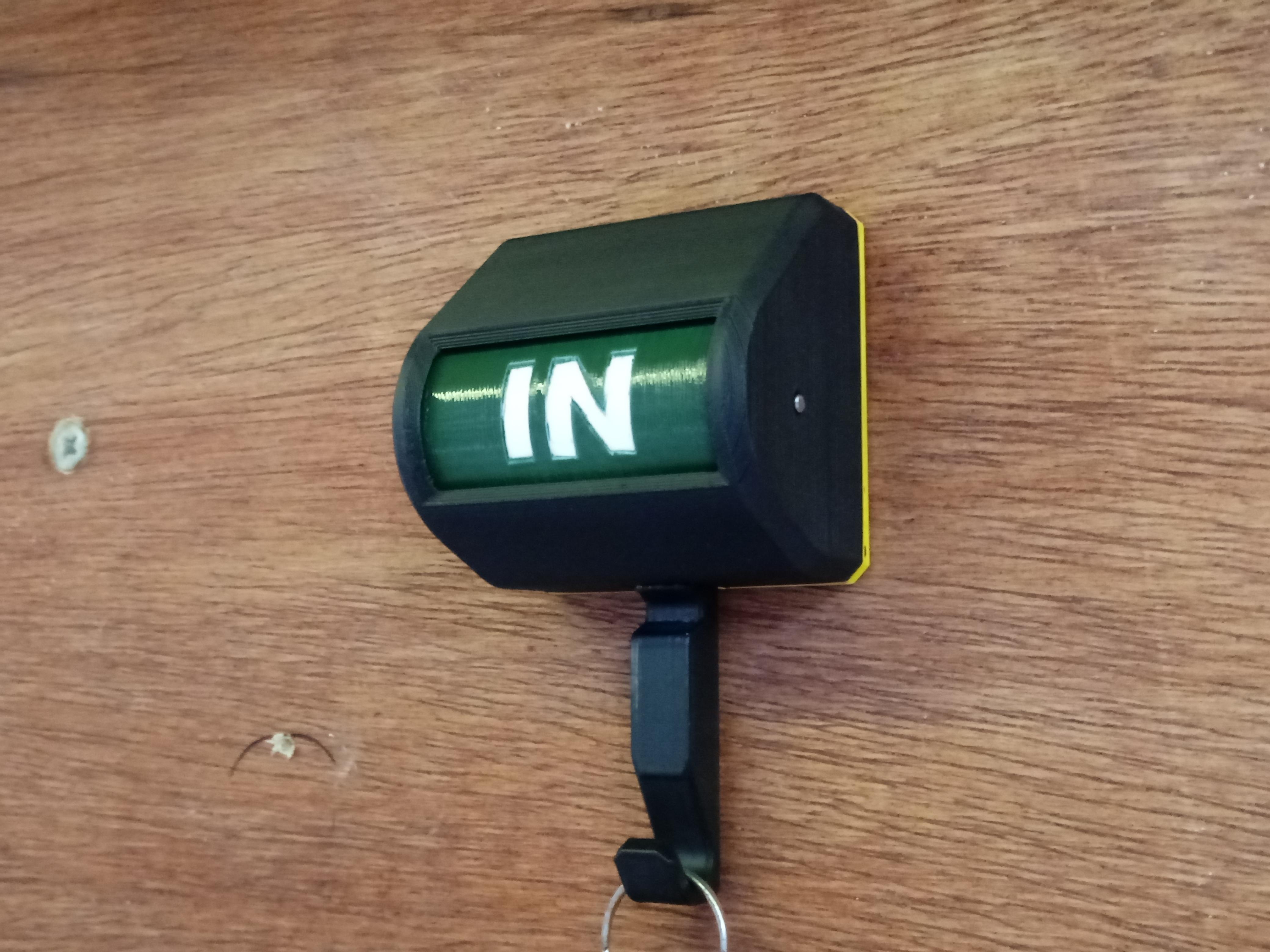 20210104_133447.jpg Télécharger fichier STL Drapeau de signalisation du détenteur de la clé • Modèle pour imprimante 3D, TRex