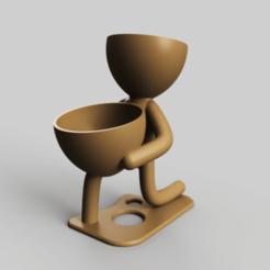 jarro1.png Descargar archivo STL jarrón macetas jarra de plantas • Objeto para impresora 3D, TRex