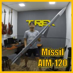 foto cults capa missil.png Télécharger fichier STL missile AIM120 • Modèle pour impression 3D, TRex