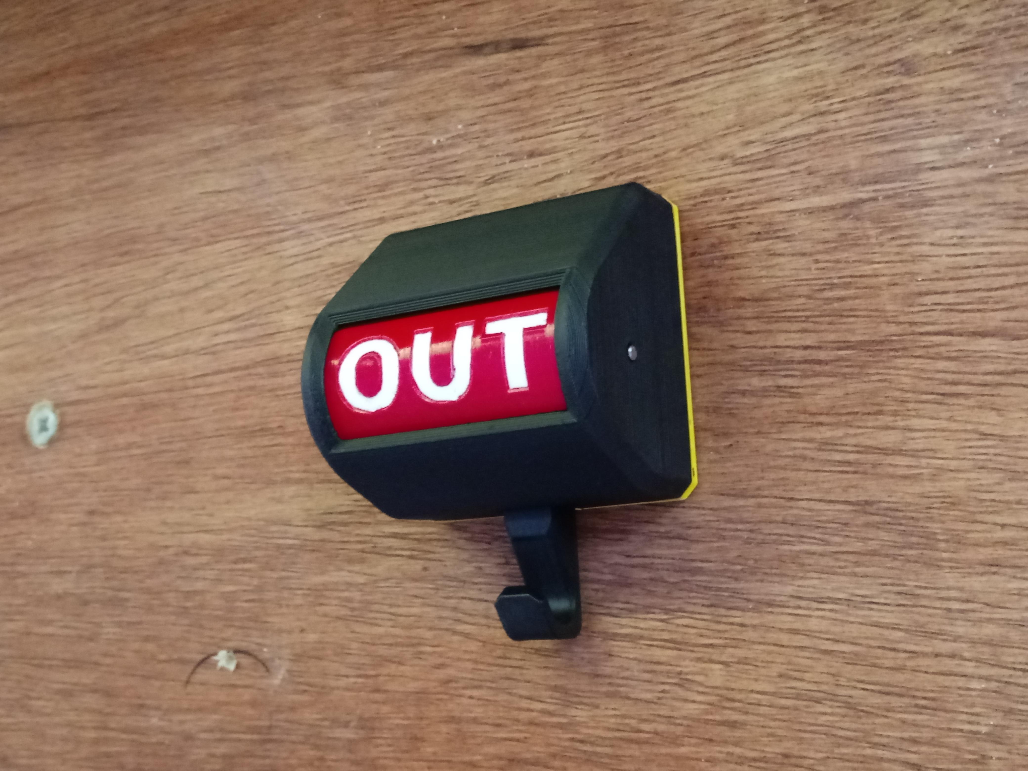 20210104_133040.jpg Télécharger fichier STL Drapeau de signalisation du détenteur de la clé • Modèle pour imprimante 3D, TRex