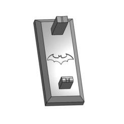 Download 3D printer files Arkham Origins Grappling Hook Stand, onpointsstudios