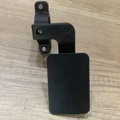 IMG_1744.jpg Download STL file Rotating mobile phone holder for bicycle or motorbike • 3D printing design, rpg1990