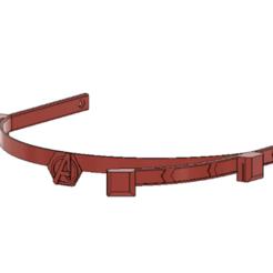 Careta avengers.png Download STL file Careta Avengers • 3D printer template, maquinasensual69