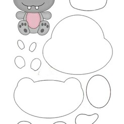 hipopotamo.jpg Télécharger fichier STL Hippopotame • Design imprimable en 3D, almeidamad
