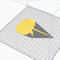 Feliz Dia.jpg Download STL file Topper Happy Day • 3D printable object, almeidamad