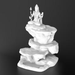 Télécharger fichier STL Lord Shiva - Montagne Smoke Backflow • Plan imprimable en 3D, yashmagdumstark1