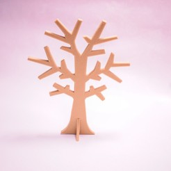 Download free 3D printer model jewelry tree, tetyy3d