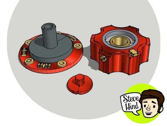 inletoutlet_valve_cropped.jpg Download free STL file Space suit inlet/outlet valve • Object to 3D print, stevehind