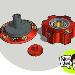 Download free 3D printer templates Space suit inlet/outlet valve, stevehind