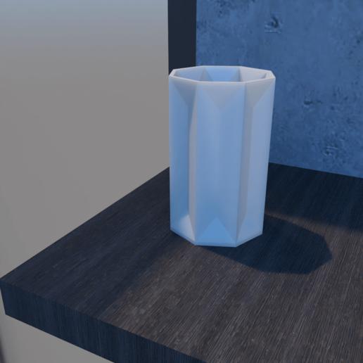 01_Escena4.effectsResult.png Download STL file FlowerPot • 3D print template, xracksox