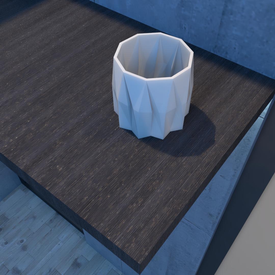 01_Escena10.effectsResult.png Download STL file Flower Pot • 3D printing model, xracksox
