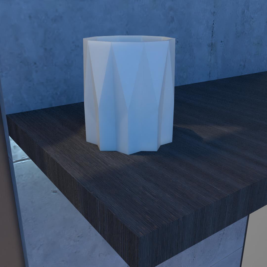 01_Escena14.effectsResult.png Download STL file Flower Pot • 3D printing model, xracksox