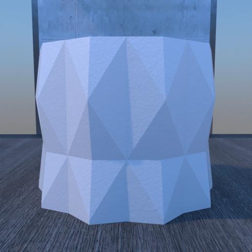 01_Escena10.effectsResult.png Download STL file DESK FLOWER POT • 3D print design, xracksox