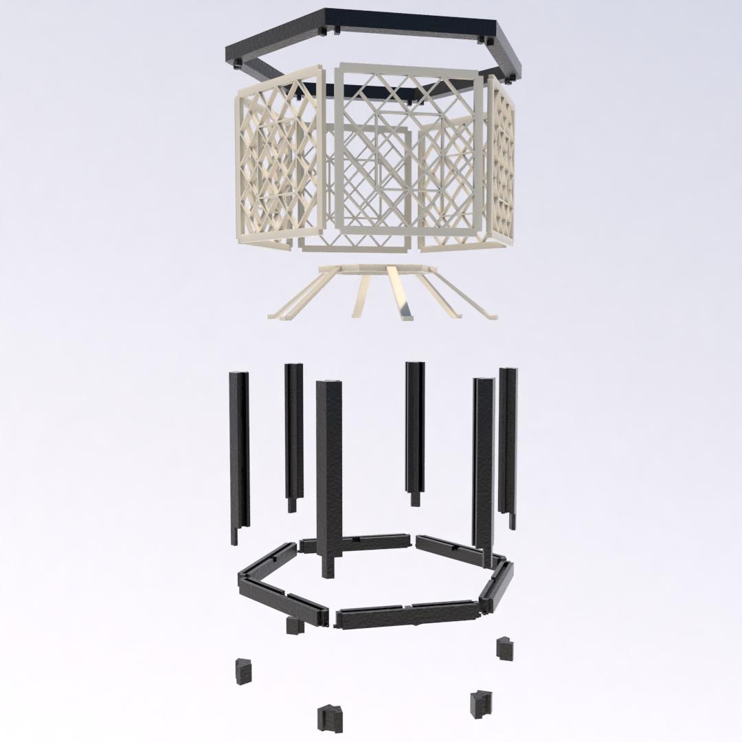 12.png Download STL file Desk Lamp • 3D printing object, xracksox