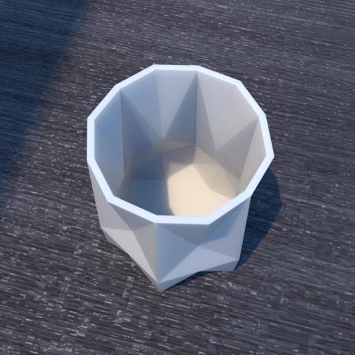 01_Escena18.effectsResult.png Download STL file FlowerPot • 3D print template, xracksox