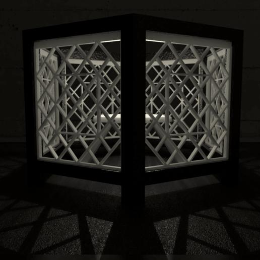 03.png Download STL file Desk Lamp • 3D printing object, xracksox