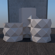 Download STL file Desk 3 Flower Pot • 3D printable design, xracksox