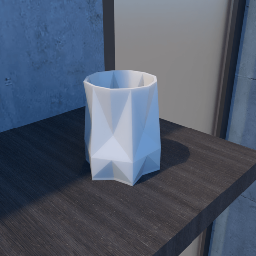 01_Escena19.effectsResult.png Download STL file FlowerPot • 3D print template, xracksox