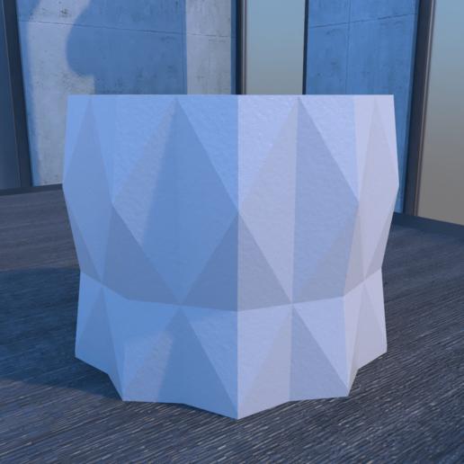 01_Escena9.effectsResult.png Download STL file DESK FLOWER POT • 3D print design, xracksox
