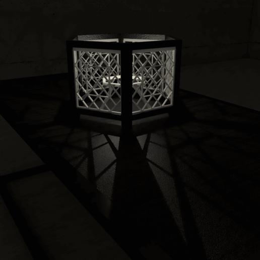 04.png Download STL file Desk Lamp • 3D printing object, xracksox