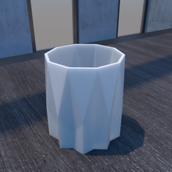 01_Escena11.effectsResult.png Download STL file Flower Pot • 3D printing model, xracksox
