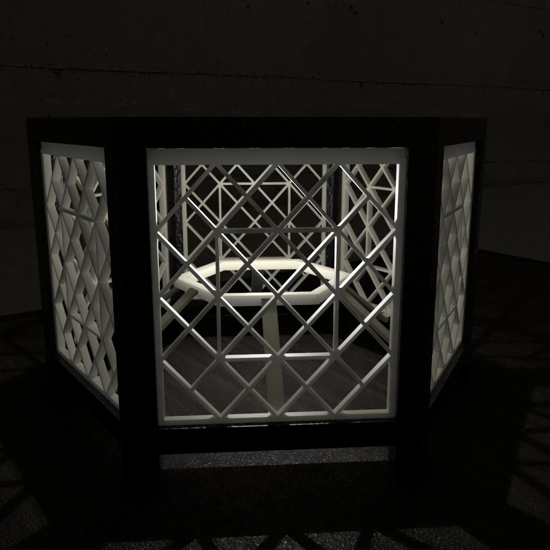 05.png Download STL file Desk Lamp • 3D printing object, xracksox