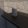 Download STL file Desk FlowerPot version 3 • 3D printing model, xracksox