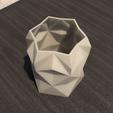 Download STL file Desk FlowerPot Version 2 • Design to 3D print, xracksox