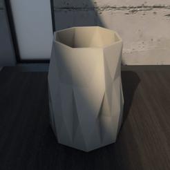 01_Escena1.effectsResult.png Download STL file Desk Flower Pot • 3D print design, xracksox