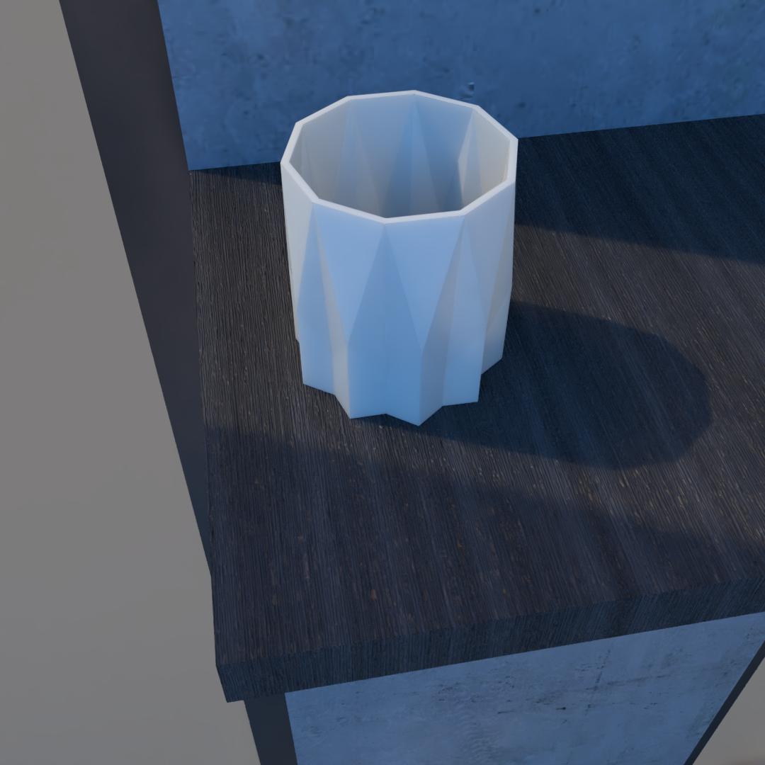 01_Escena15.effectsResult.png Download STL file Flower Pot • 3D printing model, xracksox