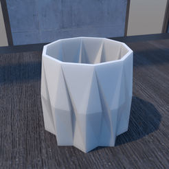 01_Escena6.effectsResult.png Download STL file Flower Pot • 3D printing model, xracksox