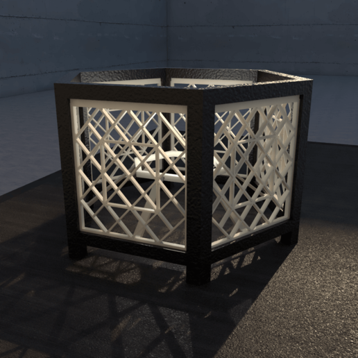 10.png Download STL file Desk Lamp • 3D printing object, xracksox