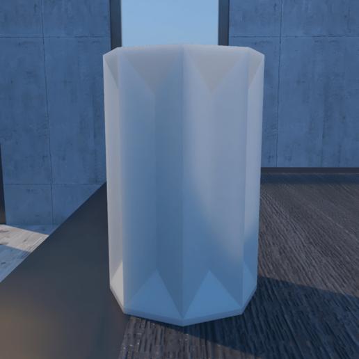 01_Escena2.effectsResult.png Download STL file FlowerPot • 3D print template, xracksox