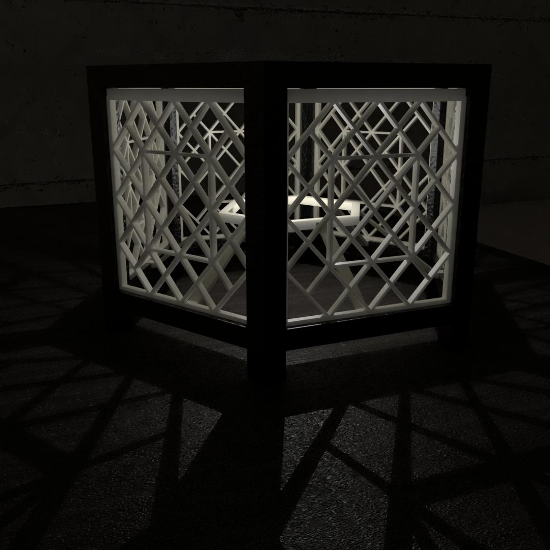 02.png Download STL file Desk Lamp • 3D printing object, xracksox