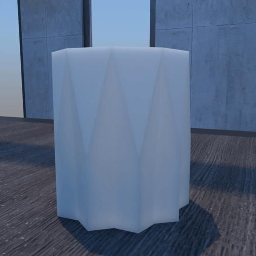 01_Escena12.effectsResult.png Download STL file Flower Pot • 3D printing model, xracksox