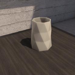 01_Escena1.effectsResult.png Download STL file Desk FlowerPot version 3 • 3D printing model, xracksox