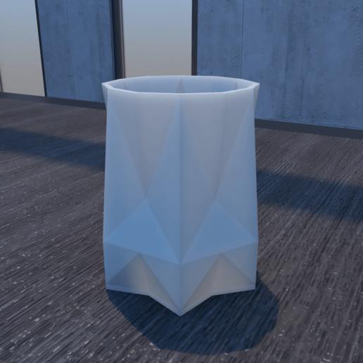 01_Escena17.effectsResult.png Download STL file FlowerPot • 3D print template, xracksox