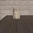 Download STL file Desk FlowerPot Version 4 • 3D printer template, xracksox