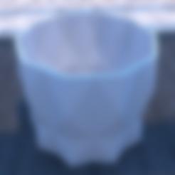 FP09.stl Download STL file DESK FLOWER POT • 3D print design, xracksox