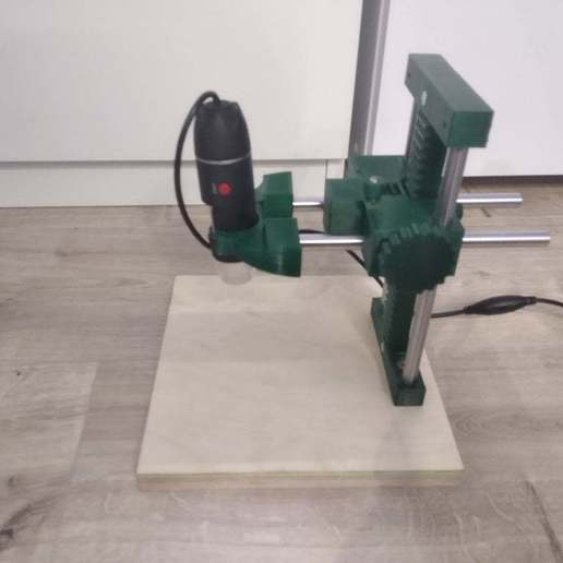 IMG_20200816_222557.jpg Download free STL file USB Microscope stand - very rigid, two axis • 3D printable template, maciejkobuszewski