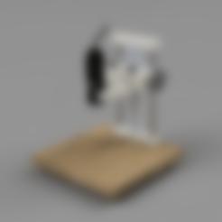 rack.stl Download free STL file USB Microscope stand - very rigid, two axis • 3D printable template, maciejkobuszewski