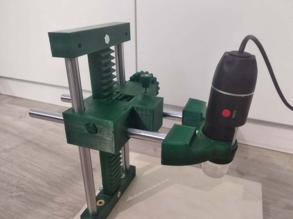 IMG_20200816_222530.jpg Download free STL file USB Microscope stand - very rigid, two axis • 3D printable template, maciejkobuszewski