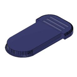 2020-10-17_18-16.png Download free STL file Lid for 2x 18650 dual battery case • 3D printing design, maciejkobuszewski