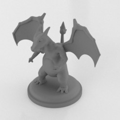 Download 3D printing templates Charizard, LaboratorioGottardello